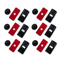 Aunger Louvre Fitting Kit Rear Louvre Mounting Clips set of 6