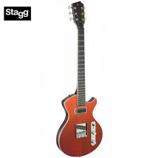 Stagg Silveray Series Custom Special Deluxe Flamed Maple Top Electric Guitar New