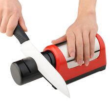 Electric Diamond Kitchen Knife Sharpener For Various Materials Ceramic 110-250V