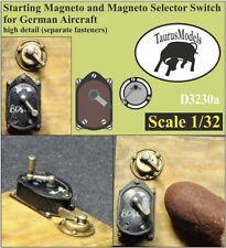 Taurus Models 1:32 Magneto & Selector Switch German  D3230a Wingnut Wings/Roden