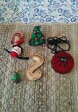 ASSORTED COSTUME JEWERLY 3 HOLIDAYS COMES IN A FOSSIL TIN BOX