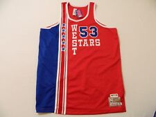 M57 MITCHELL & NESS 1977-1978 West Stars All Star Artis Gilmore Jersey MEN'S 56