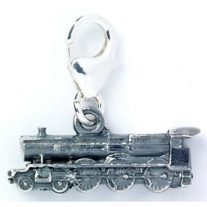 NEW Official Licensed Harry Potter St. Silver Hogwarts Express Train Charm