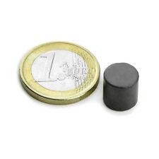 Super Magnete Disco in Ferrite dimensione 10 x 10 mm Potenza 400 gr.