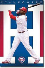 BASEBALL POSTER Ryan Howard Philadelphia Phillies MLB