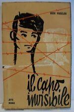 IL CAPO INVISIBILE - R.Prexler [libro, A.V.E., 1958]