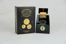 Gold Perfume for Men by New Brand (New, 3.4 oz - Eau de Toilette)