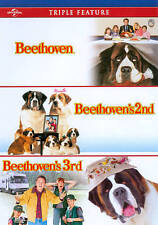 Beethoven / Beethoven's 2nd /Beethoven's 3rd Triple Feature (DVD) SHIPS NEXT DAY