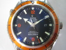 OMEGA SEA MASTER PLANET OCEAN MEN'S WATCH AUTOMATIC SAPPHIRE SWISS 22095000 NEW