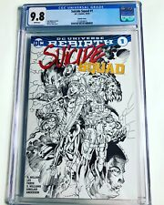 CGC 9.8 Suicide Squad #1 Variant white pages Harley Quinn highest graded copy