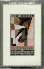 New Order - 1981 - FEP 313 - 1982 Everything's Gone Green RARE OOP ORIG Cassette
