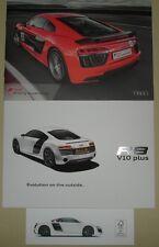 Le Mans - Audi Sport R8 V10 Plus & Driving Experience Quality Brochure & Booklet