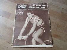 JOURNAL MIROIR DES SPORTS BUT CLUB  720 15 decembre 1958 jacques bellenger