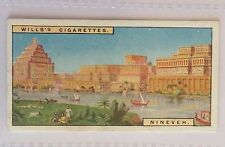 Nineveh Babylonia Wonders Of The Past 1926 Wills Cigarette Card (B14)