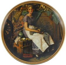 Norman Rockwell Dreaming In The Attic Knowles Collector Plate Fine China #4555Av