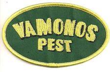 "BREAKING BAD TV Series ""VAMONOS Pest"" 4"" Embroidered Patch-FREE S&H(BAPA-003)"