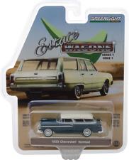 Greenlight Domaine Wagon 1955 Chevrolet Nomad Glacier et Littoral Beige