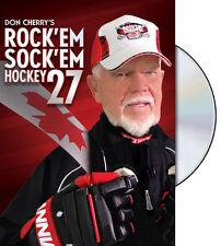 Don Cherry's ROCK'EM SOCK'EM 27 (2015) Official NHL Hockey DVD Home Video Disc