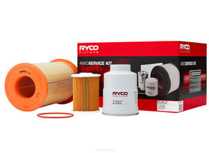 Ryco 4x4 Filter Service Kit RSK11 fits Nissan Navara 3.0 TD 4x4 (D22)