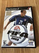 FIFA Soccer 2003 (Sony PlayStation 2, 2002) BT1