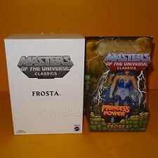 2012 MATTEL MOTU HE-MAN MASTERS OF THE UNIVERSE CLASSICS SHE-RA POP FROSTA MOC