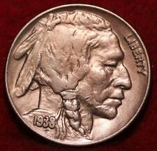 1938-D  Denver Mint Buffalo Nickel