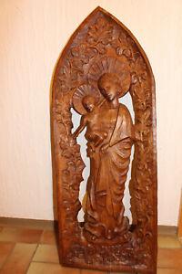 Madonna Relief handgeschnitzt
