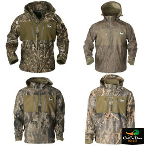NEW BANDED GEAR WATERPROOF 1/4 QUARTER ZIP CAMO HOODED PULLOVER - B1010030 -