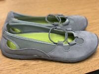 Lands End Outdoors Womens Size 7.5 Slip On Mary Jane Comfort Shoes