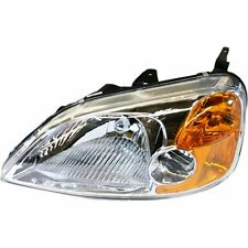 Headlight For 2001-2003 Honda Civic Coupe Driver Side