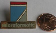 PIN PIN'S STE MICROFORMATIC INFORMATIQUE ORDINATEUR EMAIL PORT A PRIX COUTANT