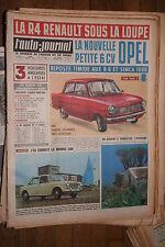 L'AUTO - JOURNAL  N°305  23 AOUT 1962  13ème ANNEE  MAGAZINE COMPLET