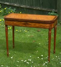 Regency Satinwood Card Table (Various Pick Up Points)