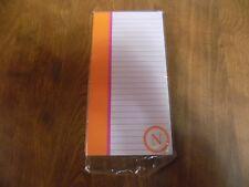 "New 80 Sheet Magnetic Memo Note Pad / List Pad- Initial ""N"" Monogram Brights"