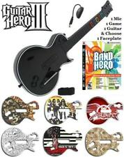 NEW PS3 Guitar Hero III Les Paul Controller w/ Dongle & GH Band Hero Game Bundle