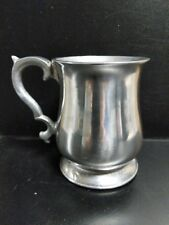 Vintage Pewtarex - Pennsylvania Pewter Tankard Mug Stein - Handmade in Usa