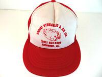 Vintage Service Hydraulic & Air Trucker Hat - Theodore, AL Mesh Cap