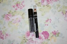 NYX ROLL ON SHIMMER RES04 ONYX, & JUMBO LIP PENCIL 706 GOLD