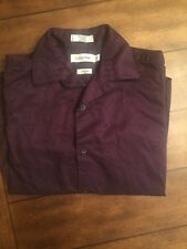 23f8de7bd47d Calvin Klein Boys  Long-Sleeve Slim Fit Dress Shirt ~ Eggplant Size 14