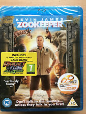Kevin James Zookeeper 2011 Family Comedy UK Blu-ray BNIB