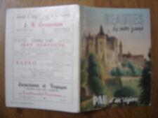 1959 PAU ET SA REGION BEAUTES DE MON PAYS depliant prospectus 50 PAGES publicite