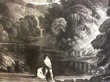 JOHN MARTIN ,Original Mezzotint , The Judgment of The Almighty
