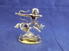 Crystocraft Sagittarius the Archer Sculpture with Strass Swarovski Crystals.