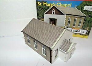 HORNBY SKALEDALE ST MARY'S CHAPEL NR MIB BOXED 00 GAUGE R8758 RESIN BUIDLING