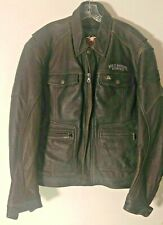 Harley Davidson Men's Classic Primaloft Leather Jacket Size 2X L FREE SHIPPING