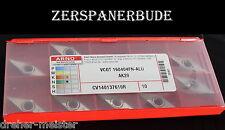 10 Wendeplatten VCGT 160404FN-ALU AK20 von ARNO Neu und originalverpackt