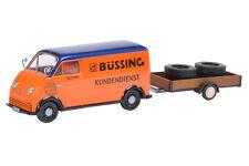 """SCHUCO DKW fast Truck """" Büssing """" Service 02389 1:43"""