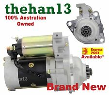 New Starter Motor For Mazda T3500 T4000 T4600 Ford Trader Diesel Engine