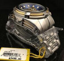 @New Invicta Reserve 52mm Bolt Zeus Quartz Chronograph 22157 Stainless Bracelet
