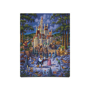 Eric Dowdle Beauty and the Beast Finding Love 14 x 11 Art Print
